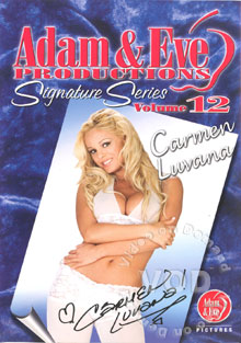 Adam & Eve Signature Series Volume 12 Carmen Luvana Box Cover