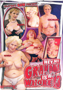 Hey My Grandma Is A Whore 13 Box Cover
