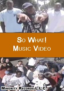 So What! Music Video