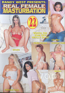Real Female Masturbation 22 Box Cover