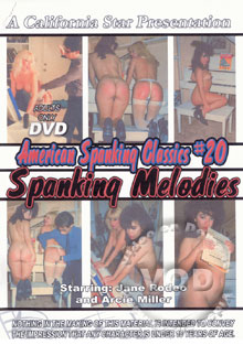American Spanking Classics #20 Spanking Melodies Box Cover