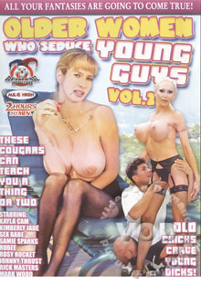 Older Women Who Seduce Young Guys 2 Box Cover