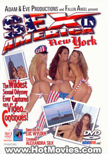 Sex Across America #4: New York Box Cover