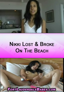 Nikki Lost & Broke On The Beach Box Cover