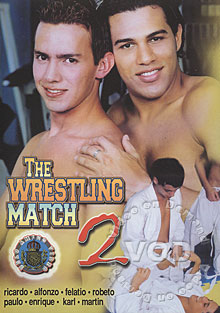 The Wrestling Match 2 Box Cover