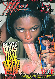 Black Girls That Love Big Fat White Cock Box Cover
