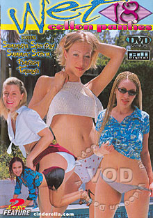 Wet Cotton Panties 18 Box Cover