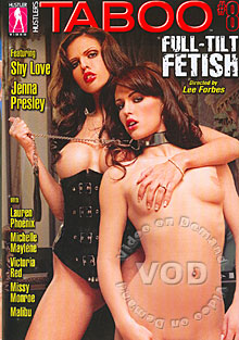 Hustler's Taboo 8 - Full-Tilt Fetish Box Cover