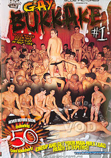 Gay Bukkake #1 Box Cover