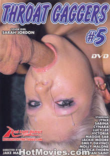 Throat Gaggers #5 Box Cover