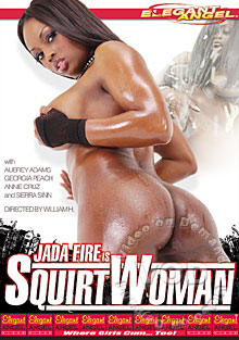 Jada Fire Is SquirtWoman Box Cover