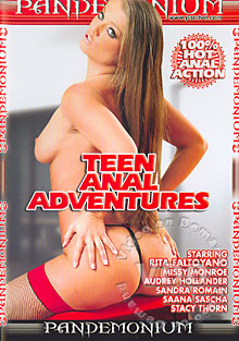 Teen Anal Adventures Box Cover