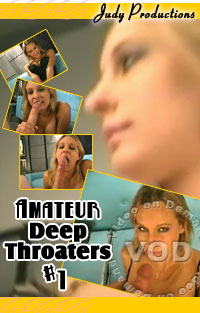 Amateur Deep Throaters #1 Box Cover