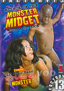 Attack Of The Monster Midget With A 10' Cock Box Cover