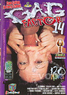 Gag Factor 14 Box Cover