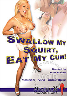 Swallow My Squirt, Eat My Cum! Box Cover