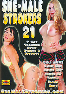 She-Male Strokers 21 Box Cover