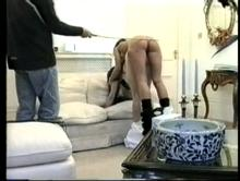 Cause For Caning - An Impromptu Spanking Clip 3 00:32:40