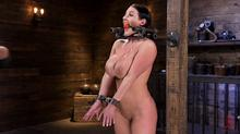 Device Bondage - Angela White Begs To Suffer For Her Master In Metal Bondage Clip 1 00:12:00
