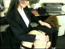 English Spanking Classic #24 - Big Bottoms Girls Caned Clip 1 00:08:00
