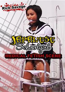 Rick Savage Japanese Schoolgirl Medical Fetish Scene Box Cover