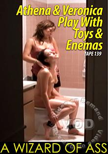 Athena & Veronica Play With Toys & Enemas Box Cover