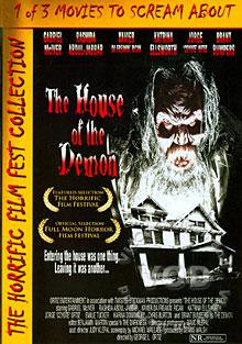 The House Of The Demon Box Cover