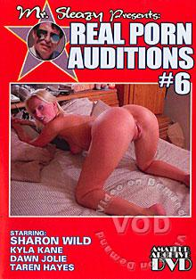 Mr. Sleazy Presents Real Porn Auditions #6 Box Cover