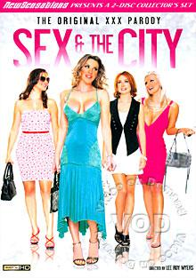 Sex & The City - The Original XXX Parody (Disc 2) Box Cover