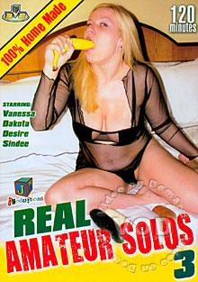 Real Amateur Solos 3 Box Cover