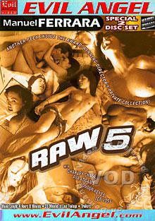 Raw 5 (Disc 1) Box Cover