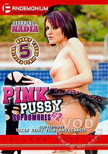 Pink Pussy Sophomores #2 Box Cover
