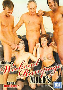Marino's Weekend Rampage MILF's Box Cover