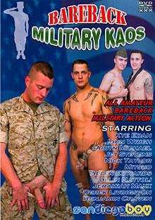 Bareback Military Kaos Box Cover