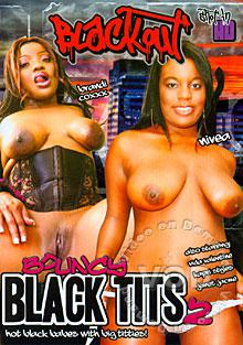 Bouncy Black Tits 2 Box Cover