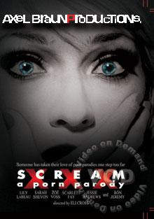 Scream XXX A Porn Parody Box Cover