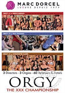 Orgy: The XXX Championship Box Cover