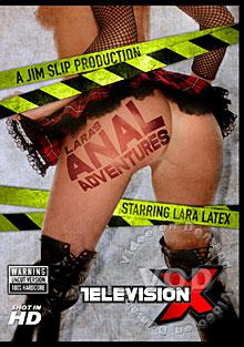 Lara's Anal Adventures Box Cover