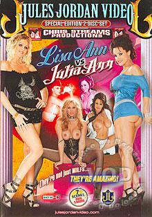 Lisa Ann vs Julia Ann (Disc 2) Box Cover