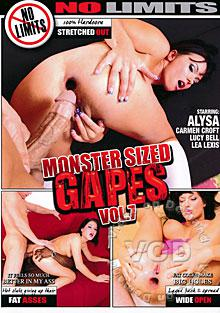Monster Sized Gapes Vol. 7