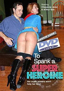 To Spank A Super Heroine Box Cover