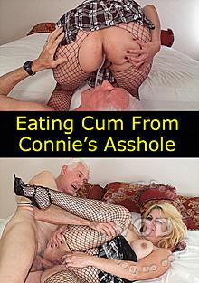 Eating cum from asshole