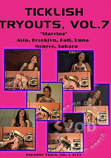 Ticklish Tryouts Vol. 7 Box Cover