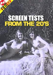 Screen Tests From The 20's Box Cover