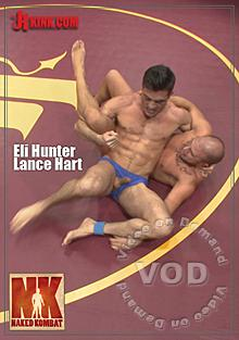 Naked Kombat - Eli Hunter Vs Lance Hart Box Cover