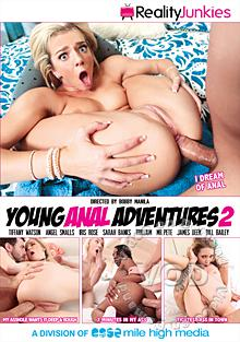Young Anal Adventures 2 Box Cover