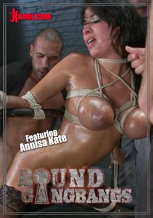 Bound Gangbangs - Enormous Tits Bound And Gangbanged Box Cover