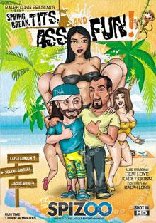 Spring Break, Tits, Ass And Fun! Box Cover