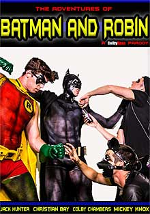 Batman et Robin gay Cartoon porno