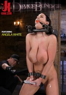 Device Bondage - Angela White Begs To Suffer For Her Master In Metal Bondage